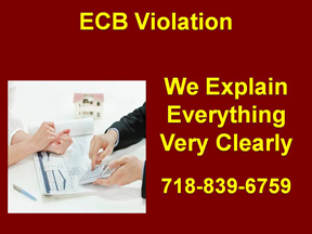ECB VIOLATION - WE EXPLAIN YOUR ECB VIOLATION VERY CLEARLY