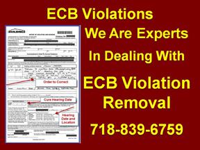 ecb violations